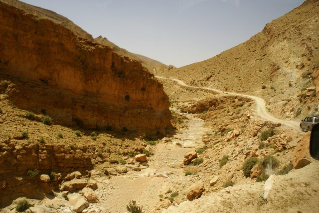 Les pistes au Maroc