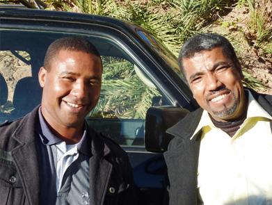 Rachid et Hassan vous accompagneront tout au long de votre séjour.